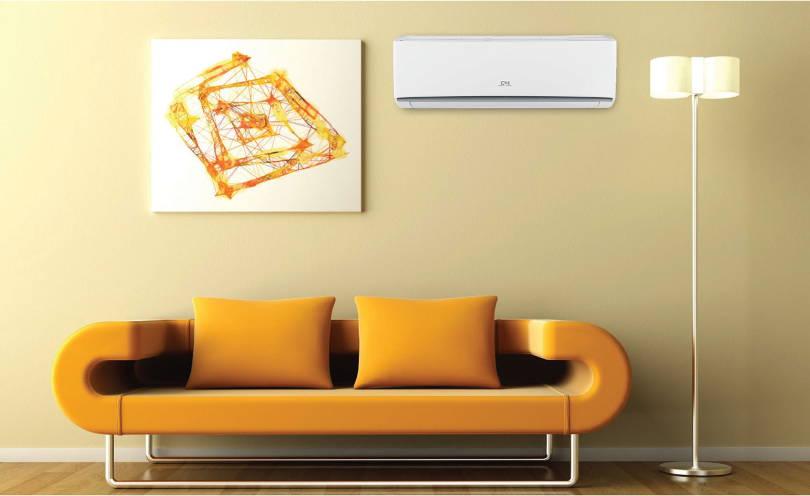 Как правильно выбрать модель кондиционера - сплит система над диваном